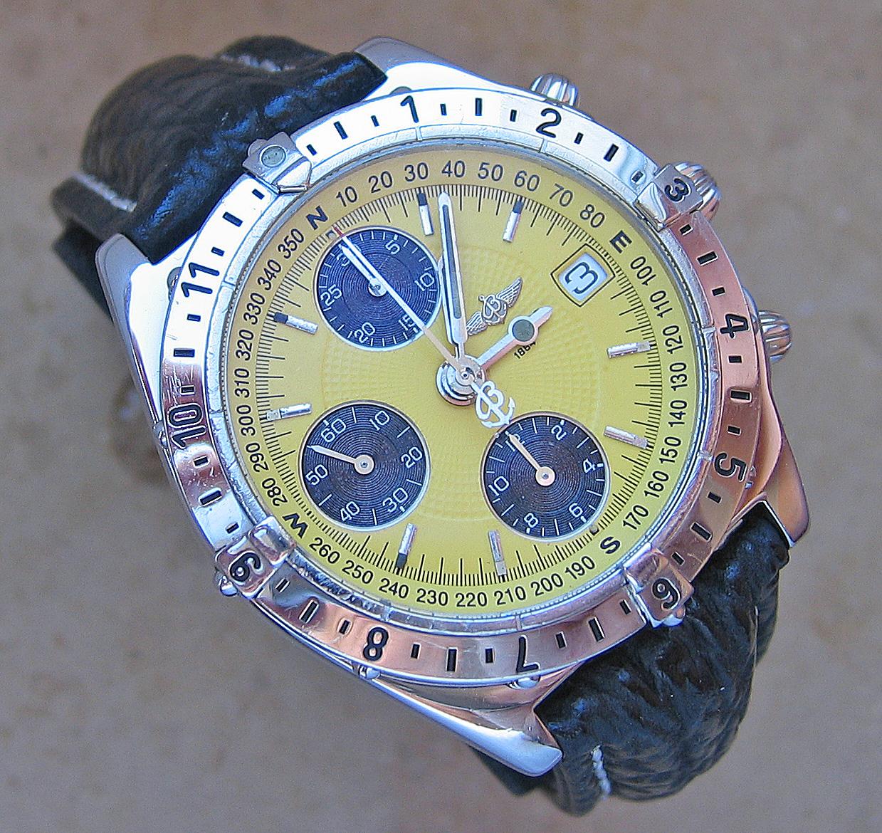 Luxusuhren Luxus Uhr Chronograph Breitling Chrono